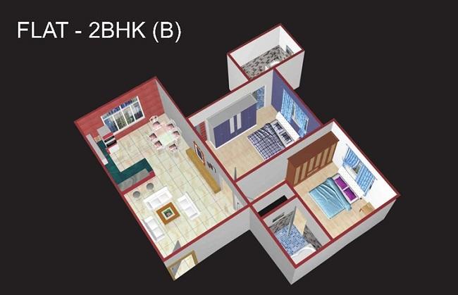 flat_2bhkb