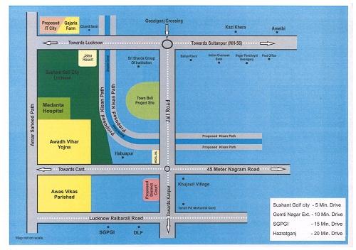 acre-scheme-location-map